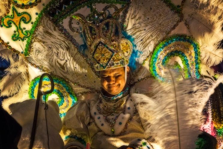 Mardi Gras Krewe King
