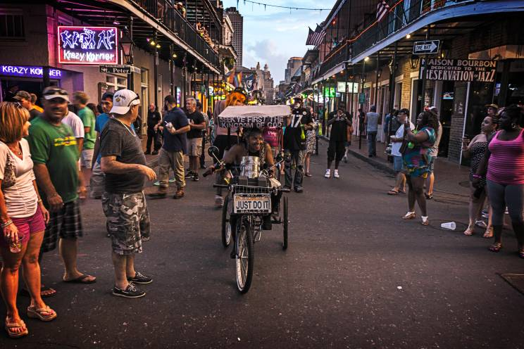 One of the reasons that tourists come to New Orleans is to visit The French Quarter. And one of the reasons they go to The French Quarter is Bourbon Street.