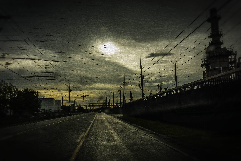 An experiment. On Bayou Road, in St. Bernard Parish.