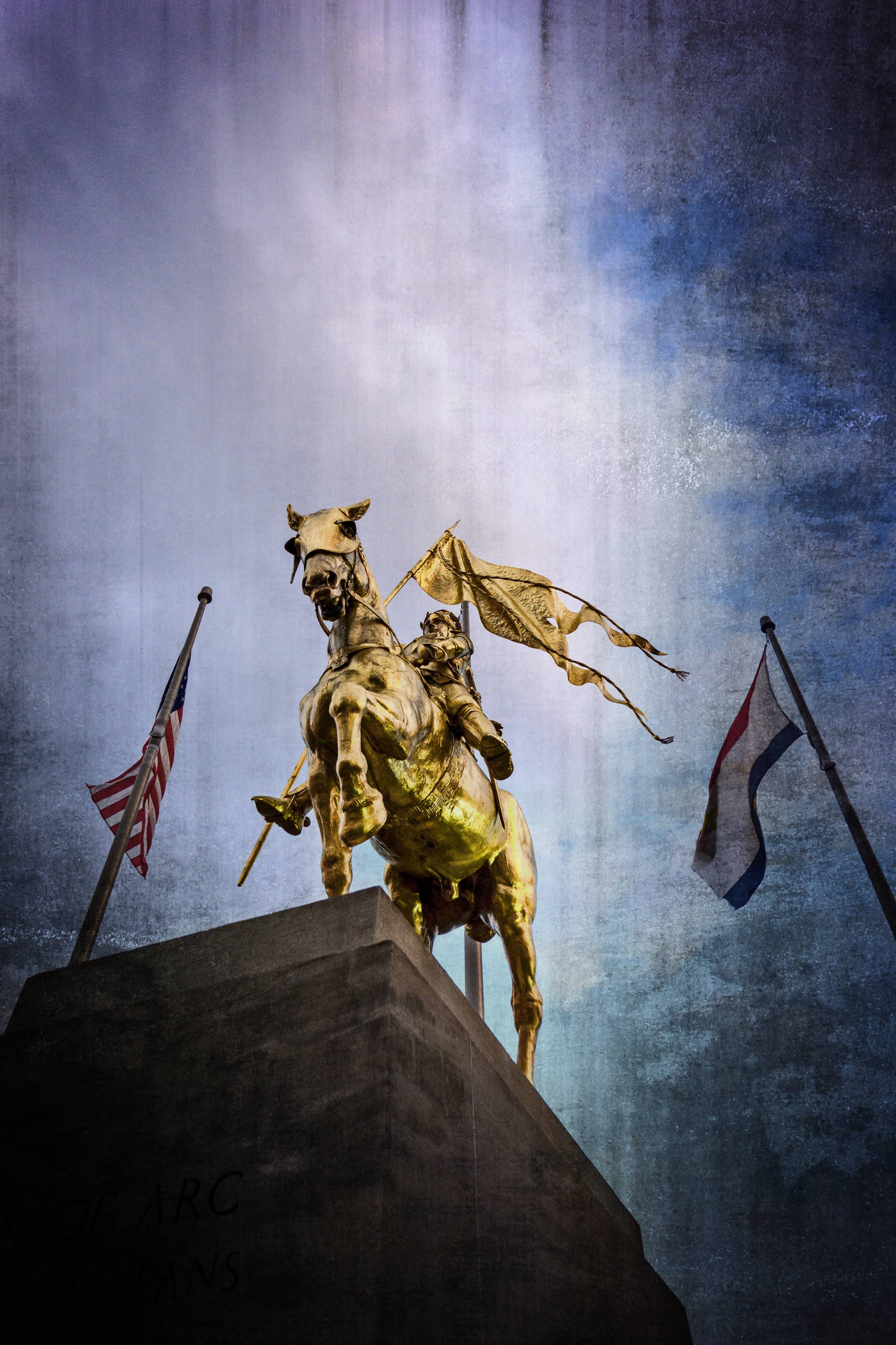 St. Joan of Arc near The French Market. Little post production.
