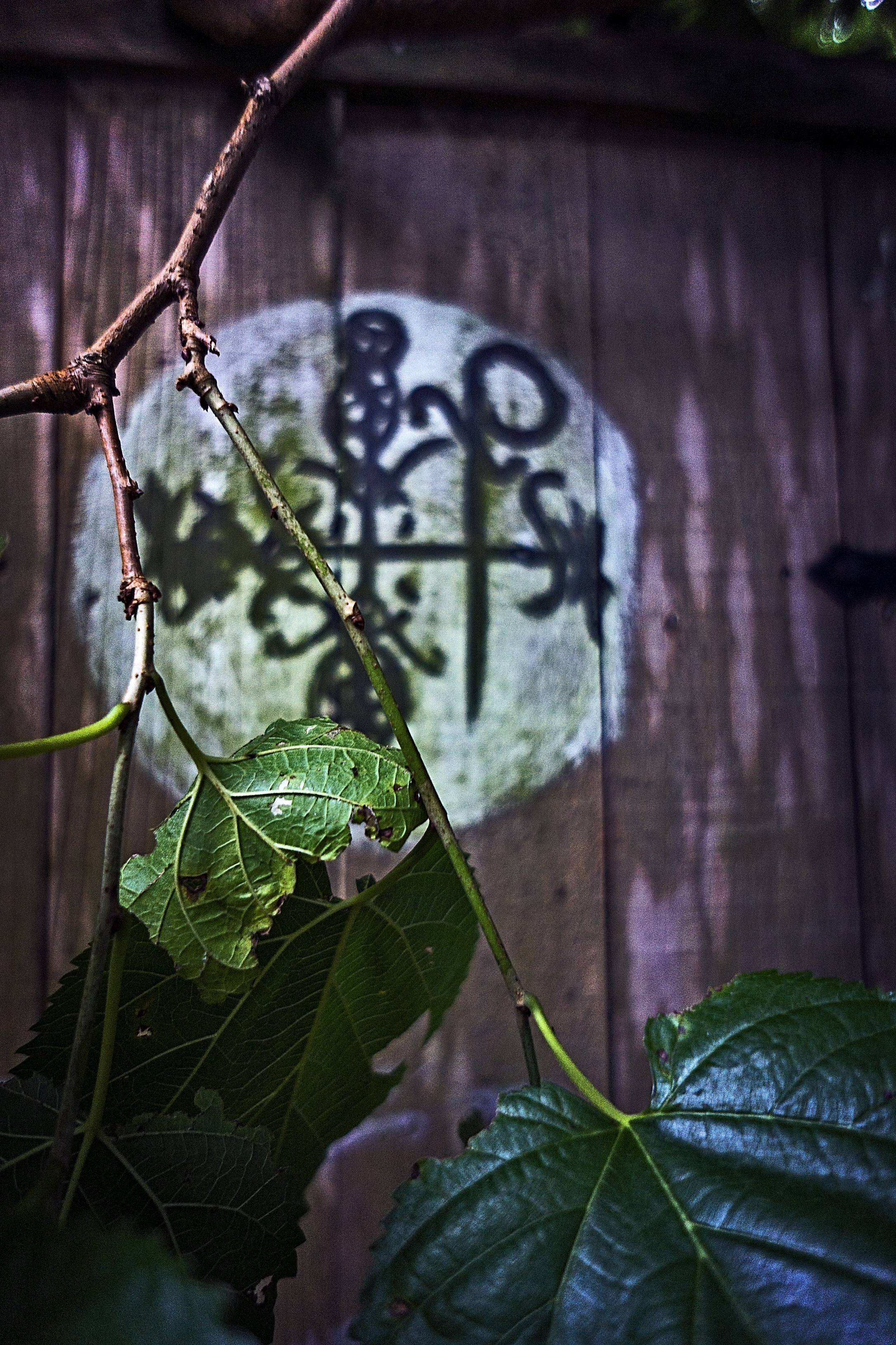 A trip to Rosalie Alley reveal a lot of signs and symbols about voodoo.