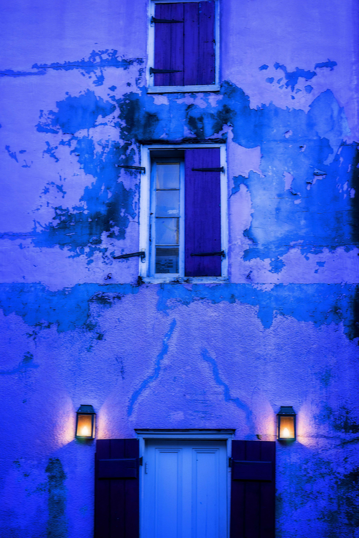French Quarter Purple