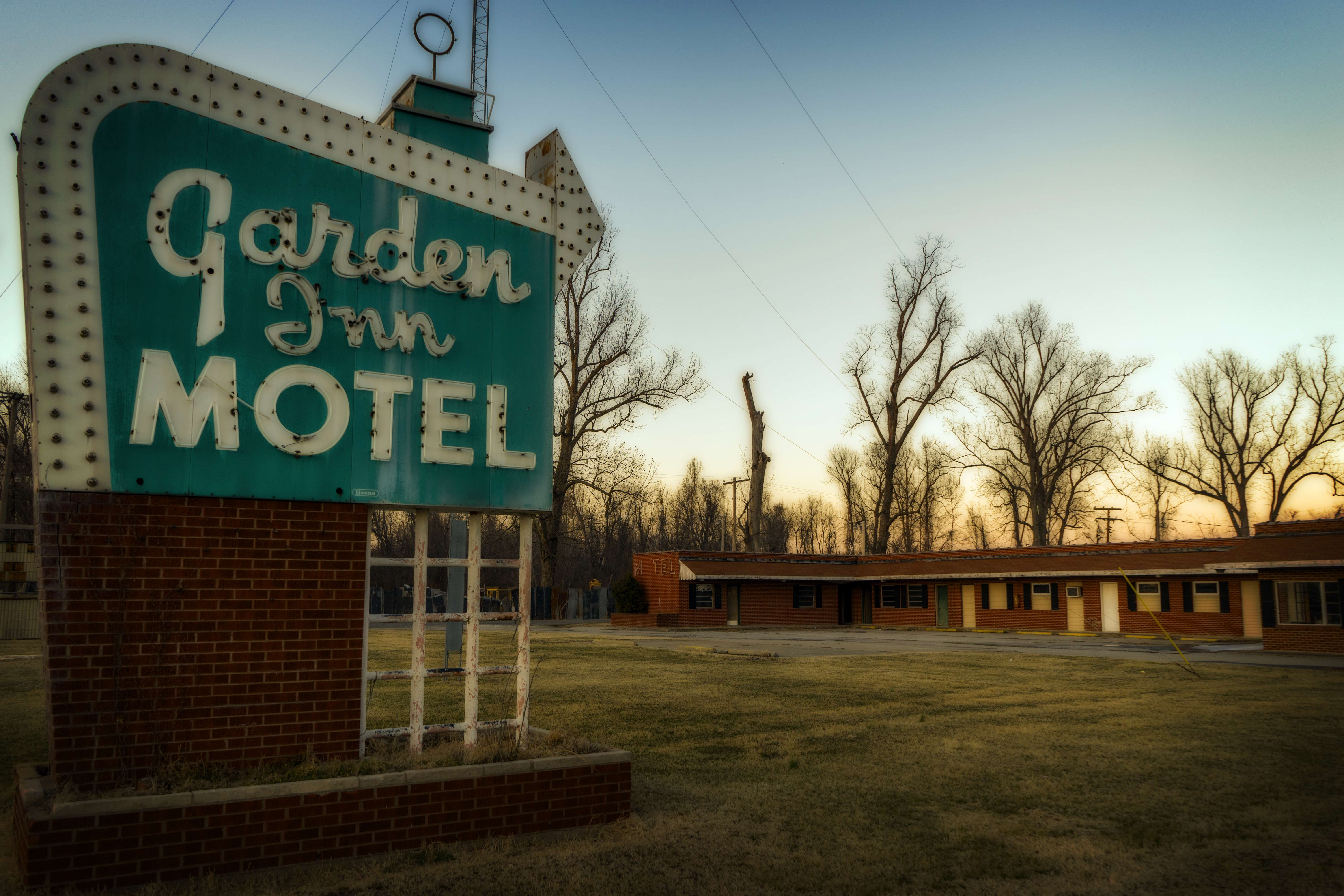 Old school motel. Very old school.