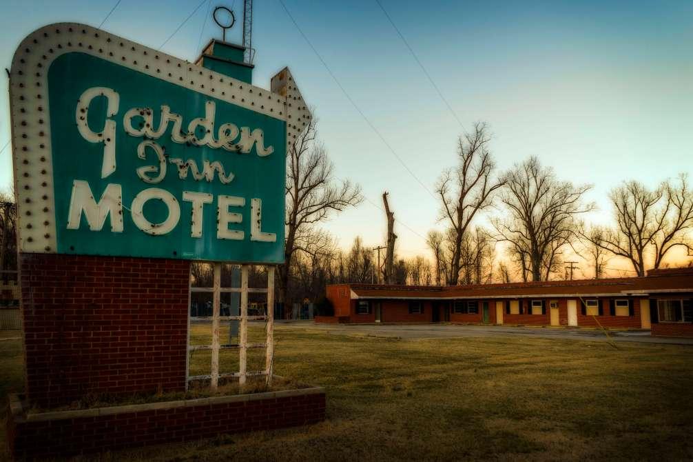 Old school motel. Very old school.