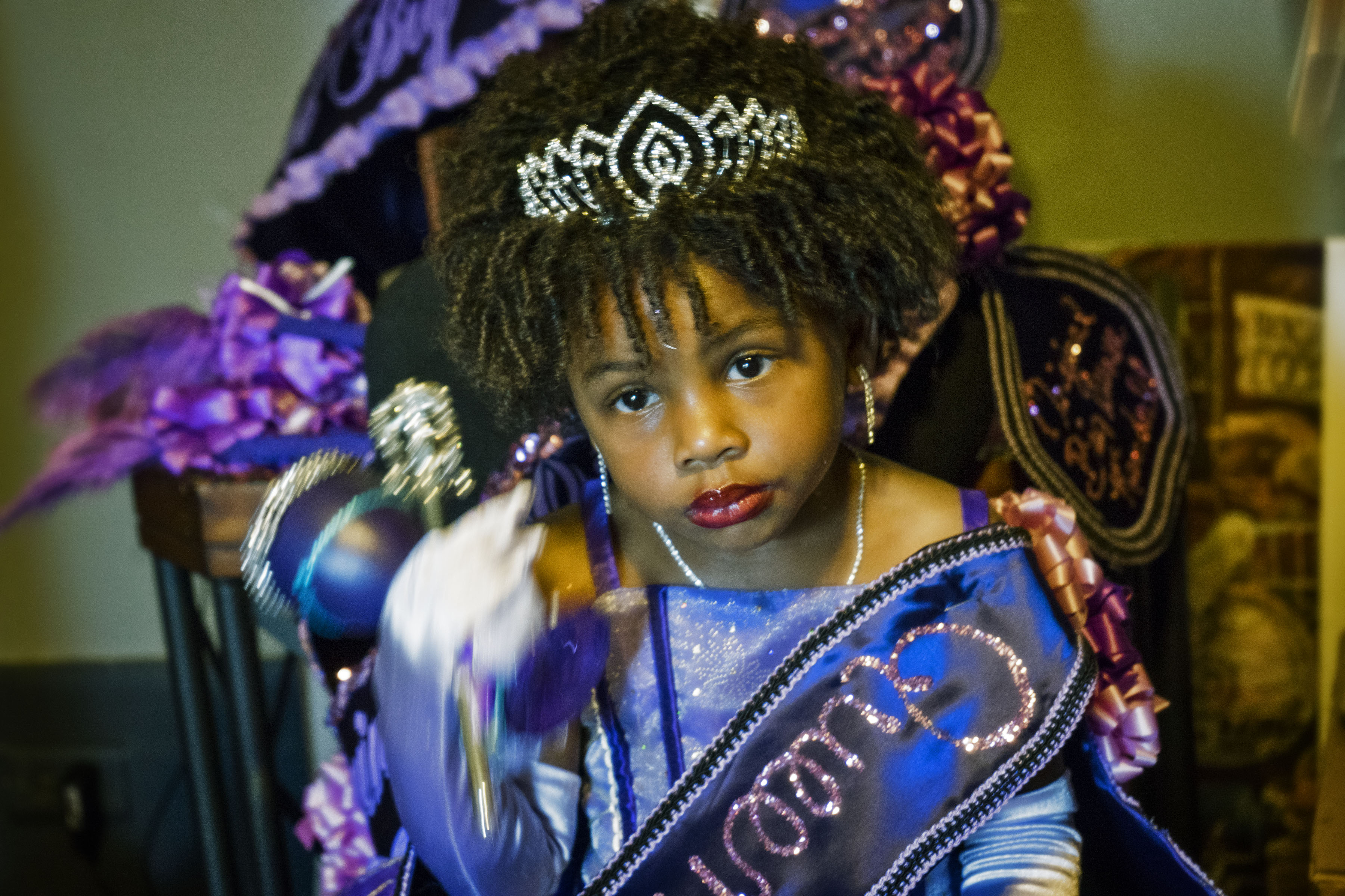 The princess of the parade.
