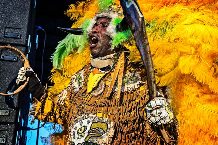 Big Chief Juan Pardo