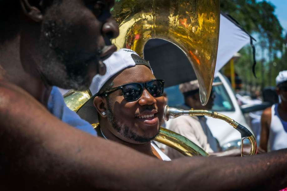 I meant it. Big bands use a couple of tubas.