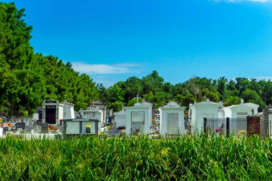 St. Bernard church cemetery.
