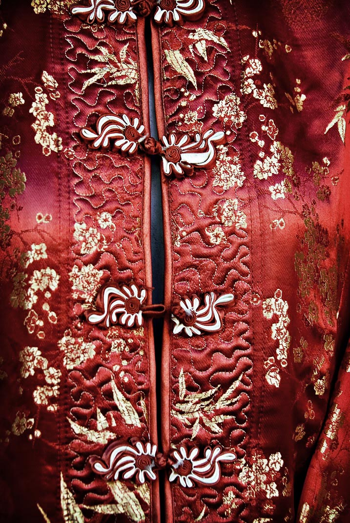 Chines embroidery.