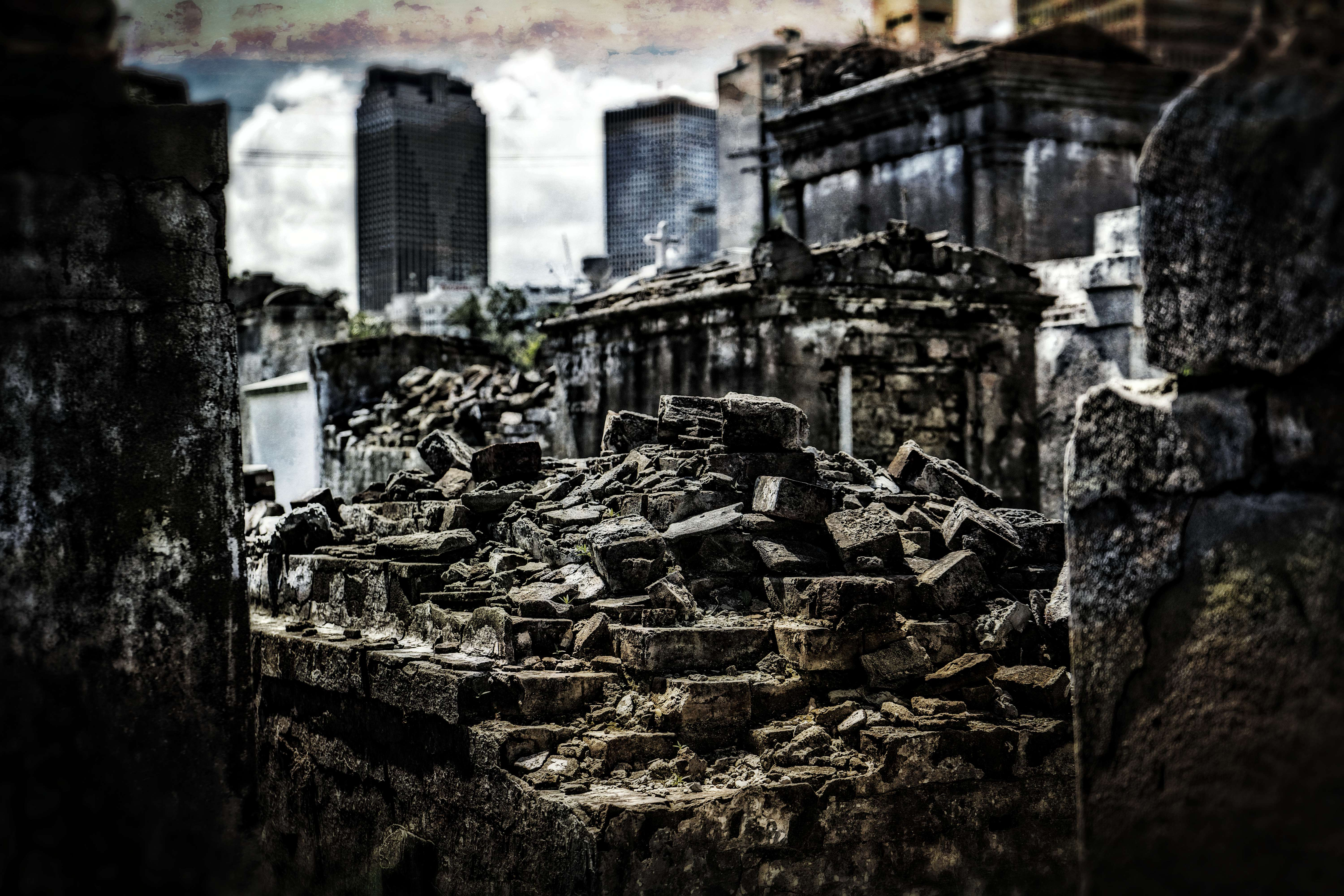 New Orleans from Lt. Louis Cemetery Number 2.