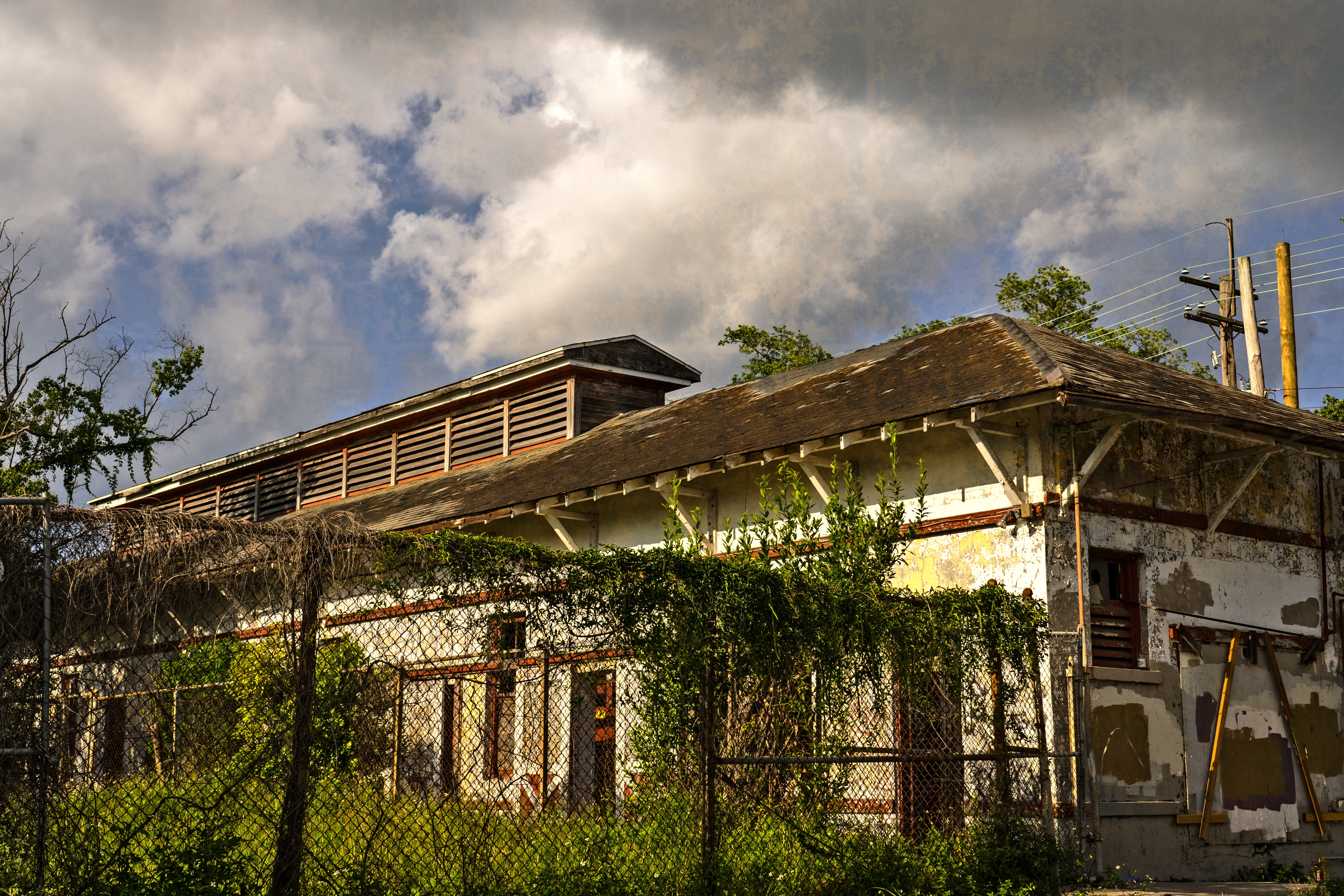 Water pump house. Bywater.