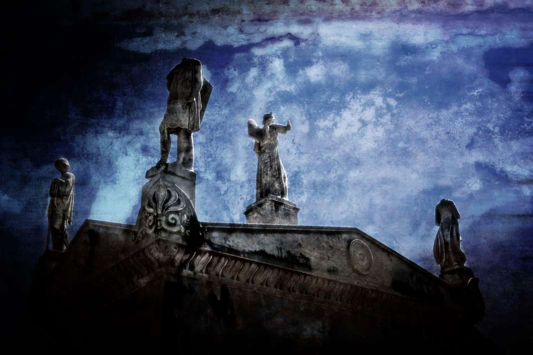 Mystery in the City of the Dead.