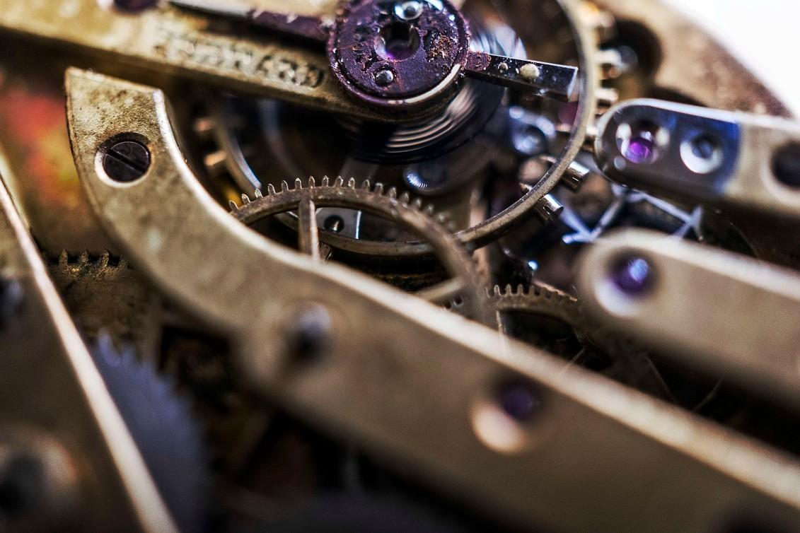 Watch parts.