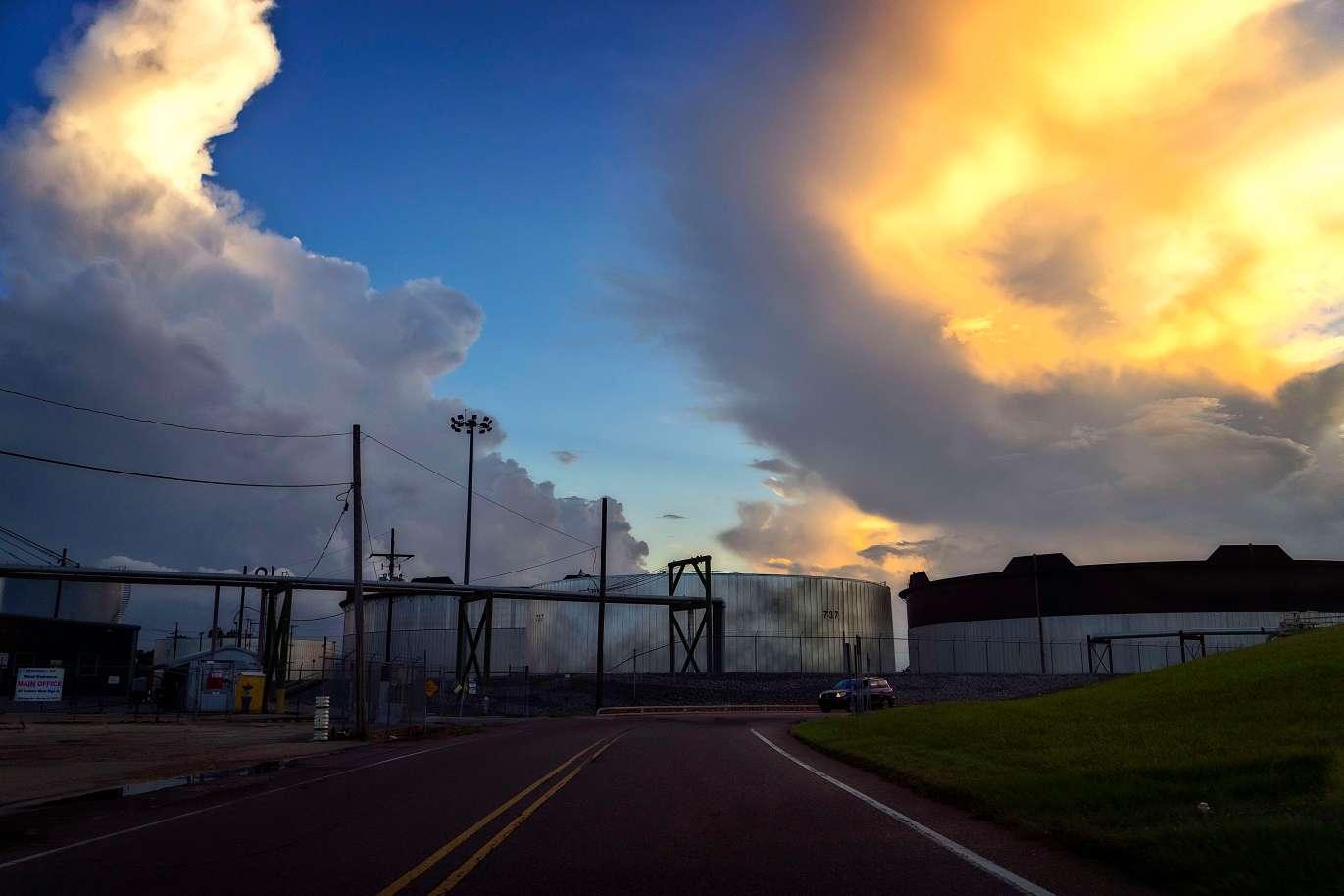 Oil processing in Westwego.