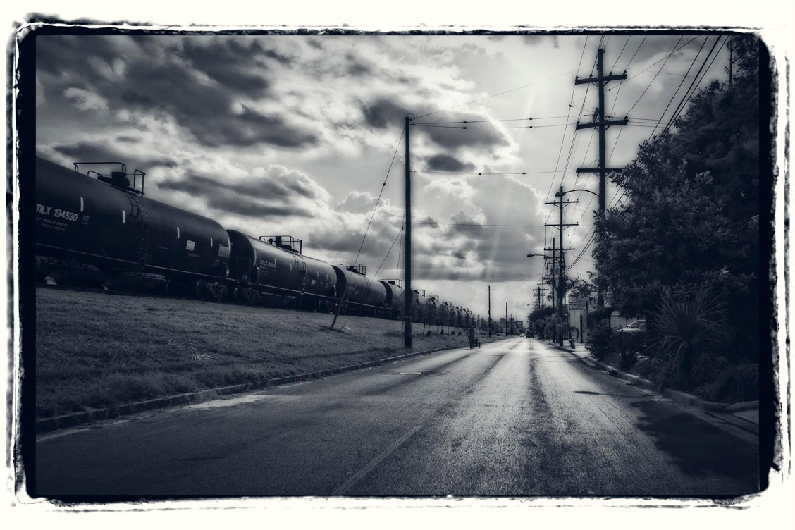Trains and Roads.