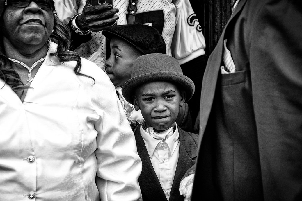 A second line portrait.