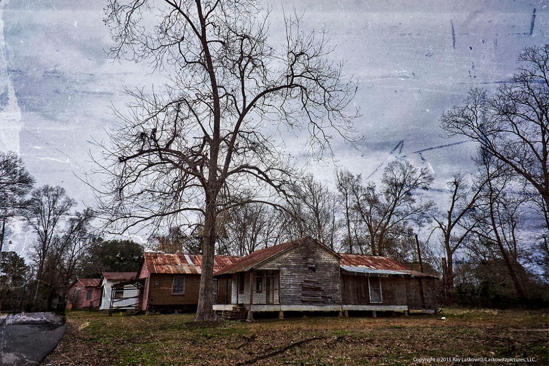 On a former plantation.