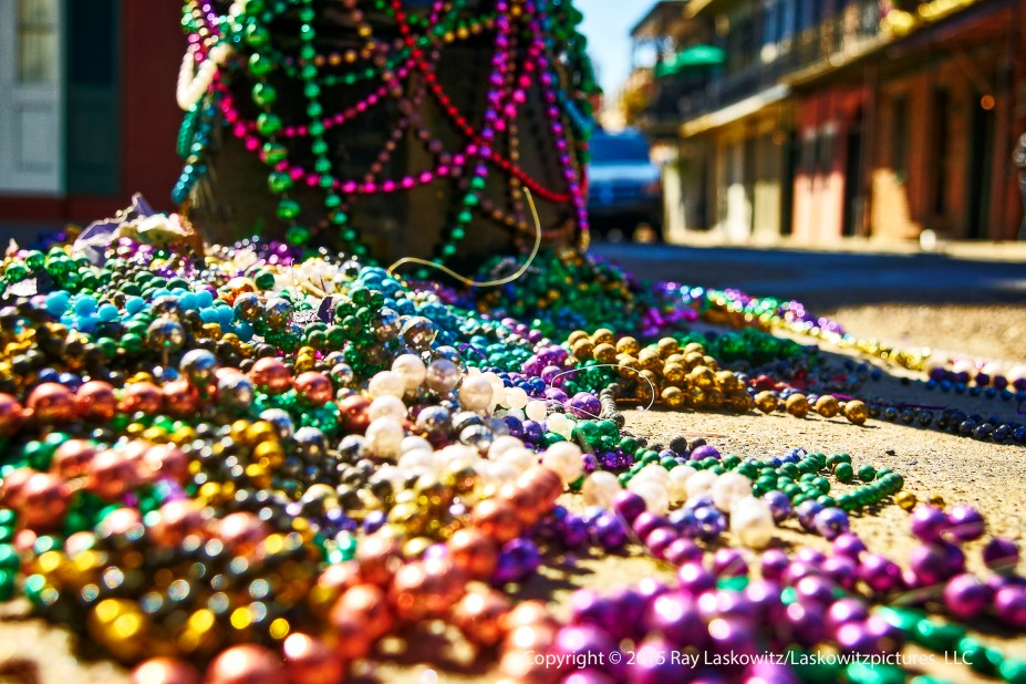 Way too many beads.