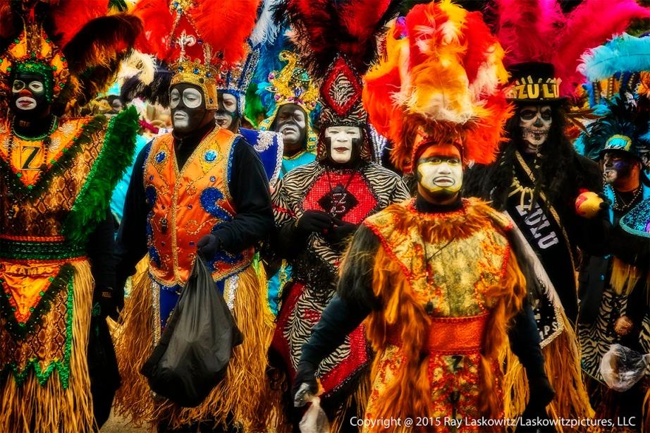 Zulus. Mardi Gras Day.