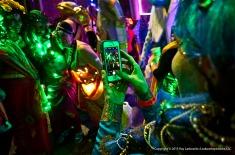 Smartphones and Mardi Gras parades.