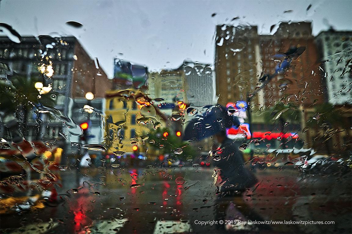 A big storm blew through the city.