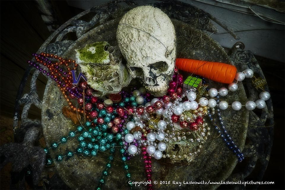 Voodoo offerings.