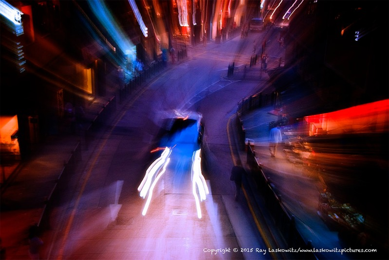 Motion, Movement and a Street.