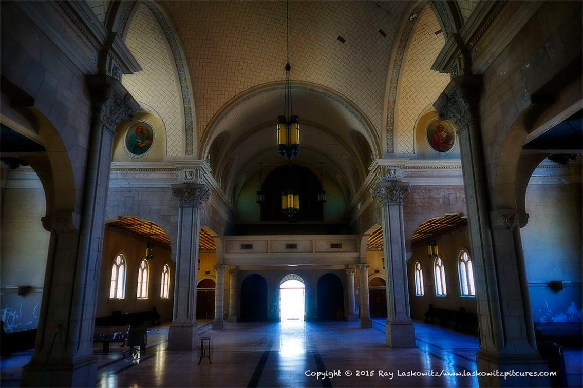 Empty church.
