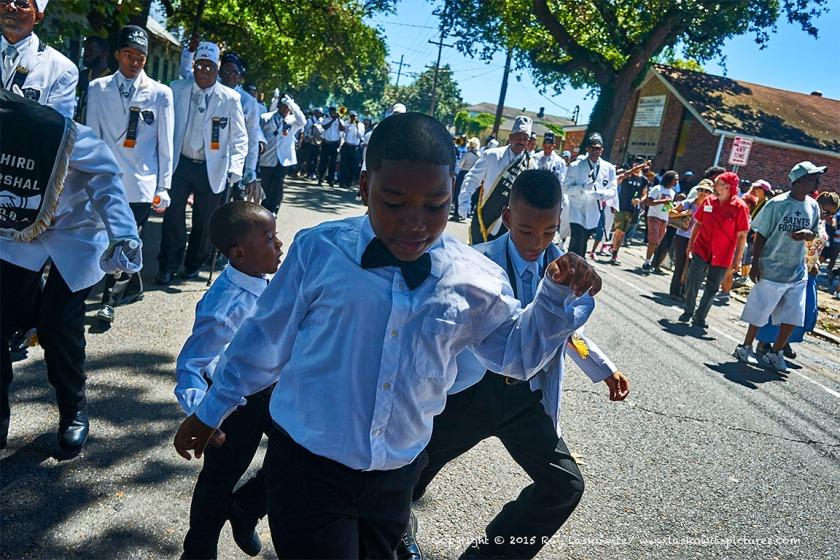 Young Men Dancing
