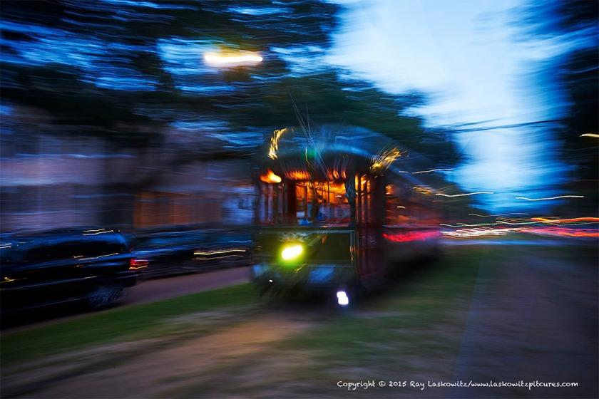 Speeding Streetcar