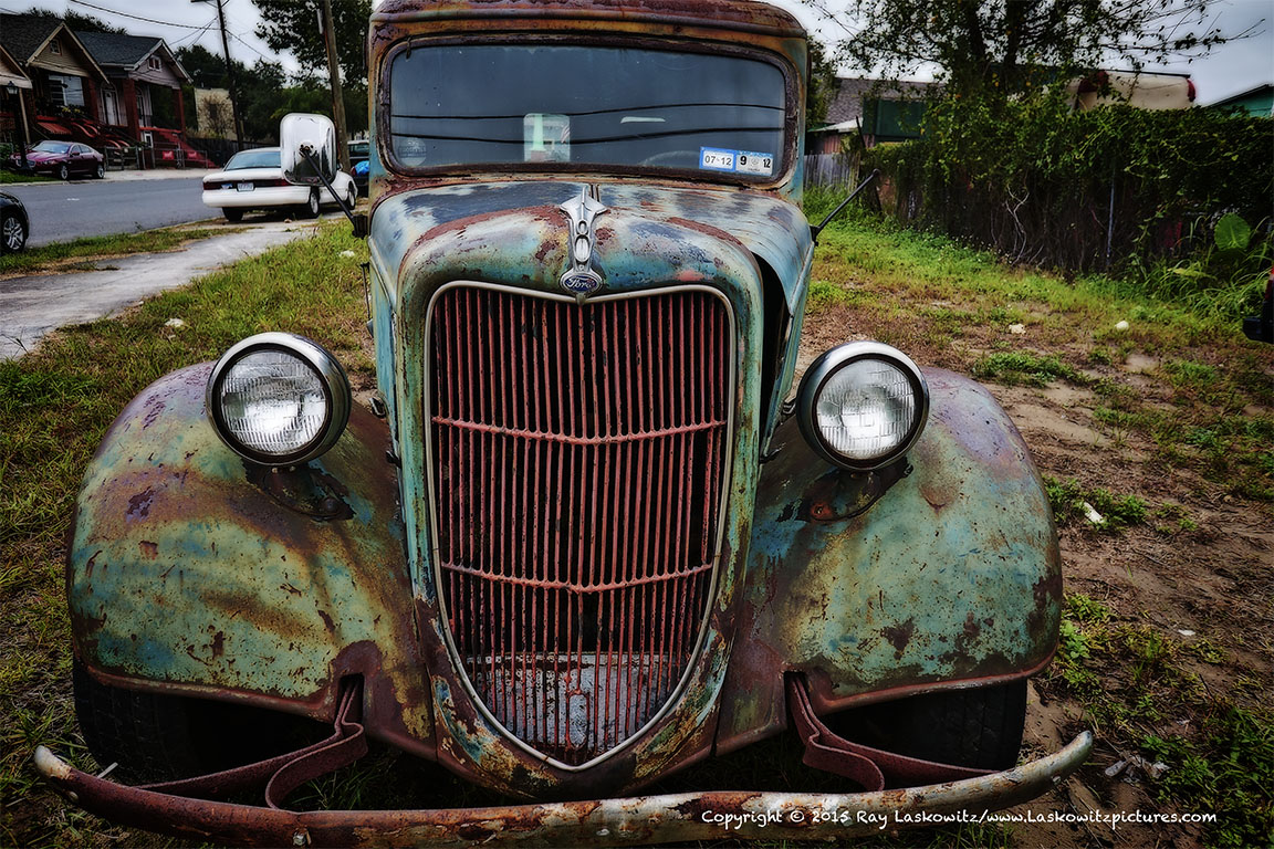 Ford front grill.