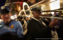 Brass band.