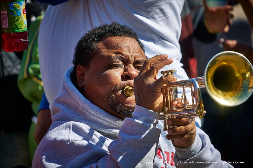 Trumpets.