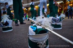 Tulane University marching band.