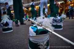Tulane University marching band.