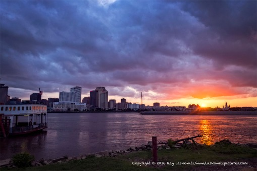 New Orleans from Algiers Point.