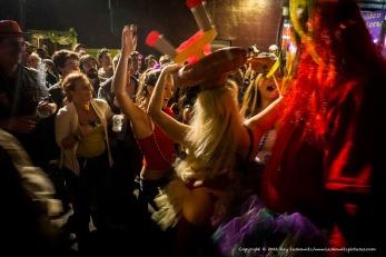Mardi Gras celebration.