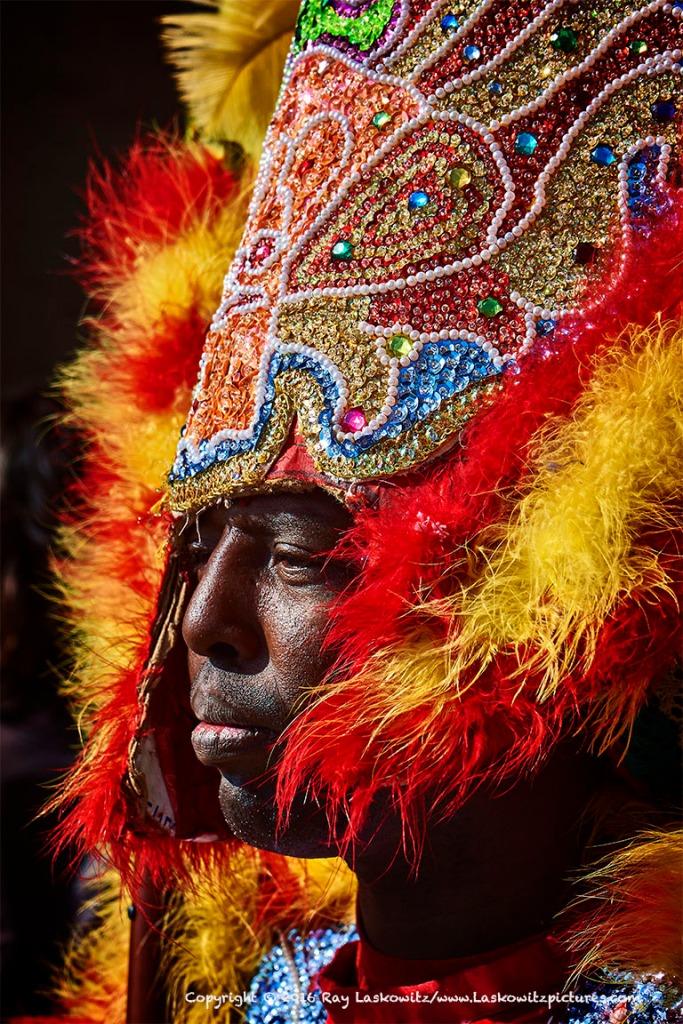Mardi Gras Indian.