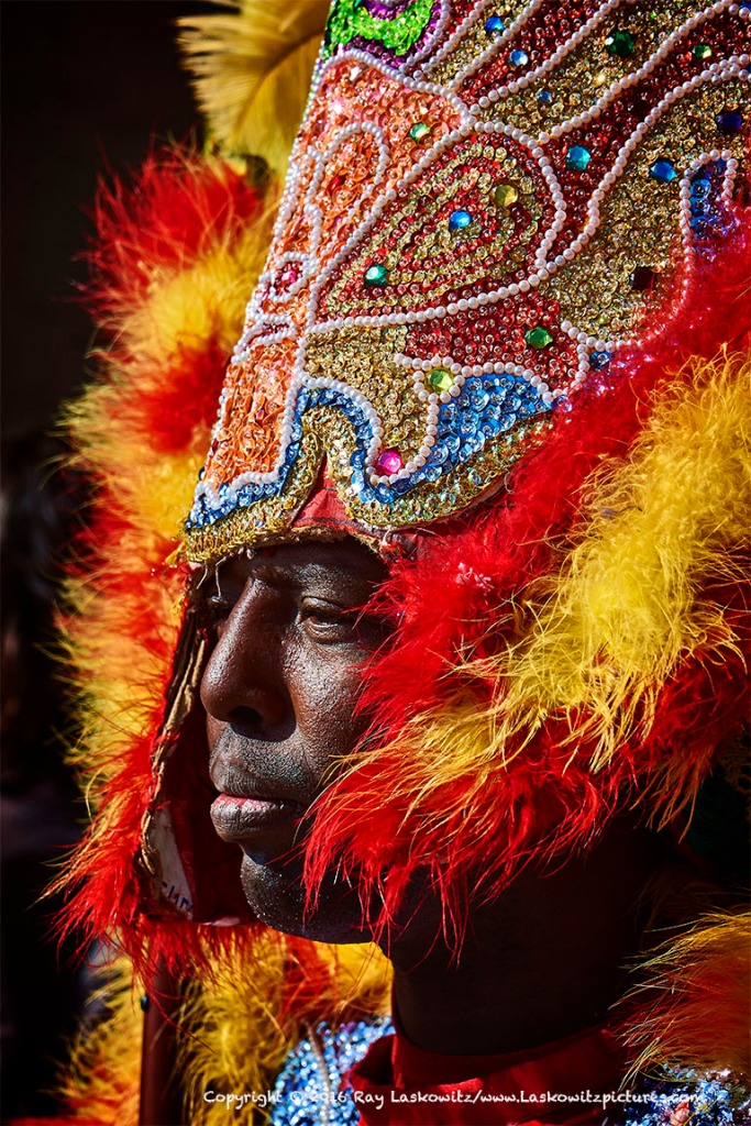 Mardi Gras Indian.