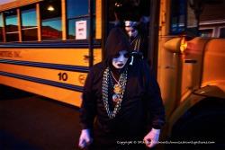 Mardi Gras bus.