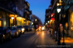 Motion and Color in The French Quarter.
