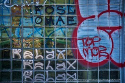 High school graffiti.