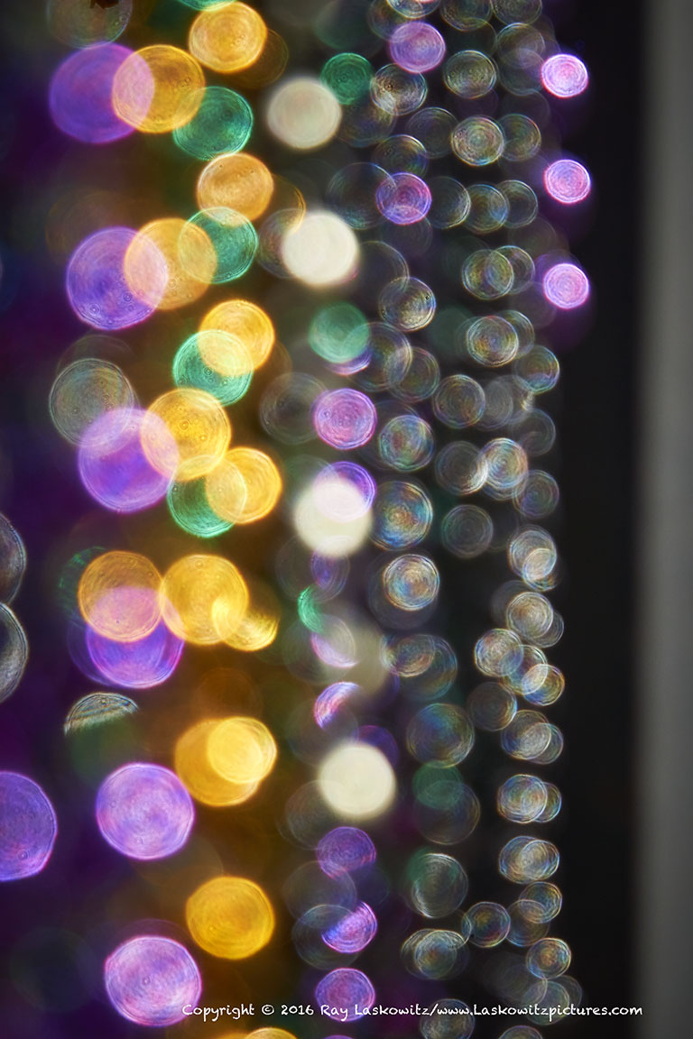 Sparkling beads.