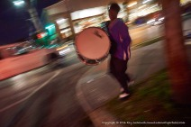 Drum and blur.