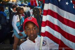 Flag bearer.