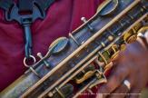 Saxophone details.