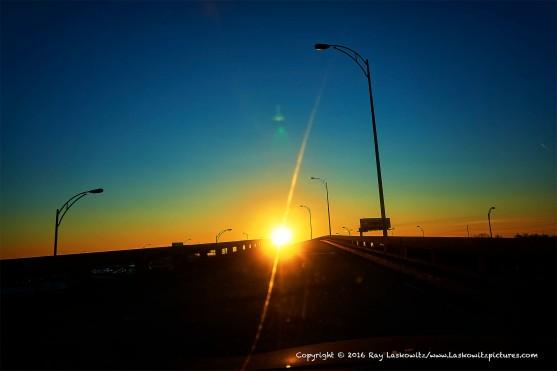Heading toward the sun.