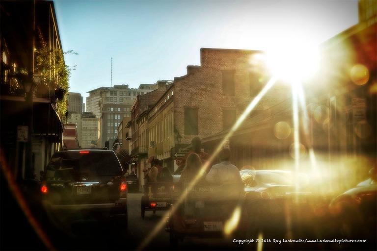 A little French Quarter light.