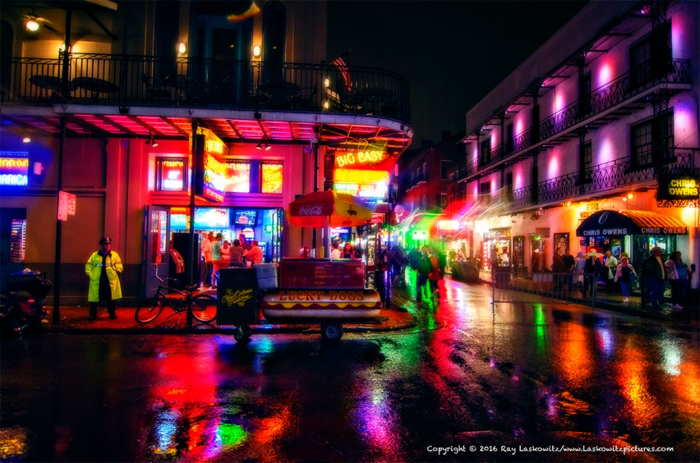 Stormy night in the Quarter.