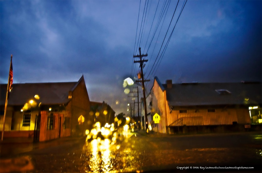 Rain in the Bywater.